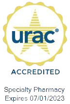URAC accreditation seal Biologics 2023