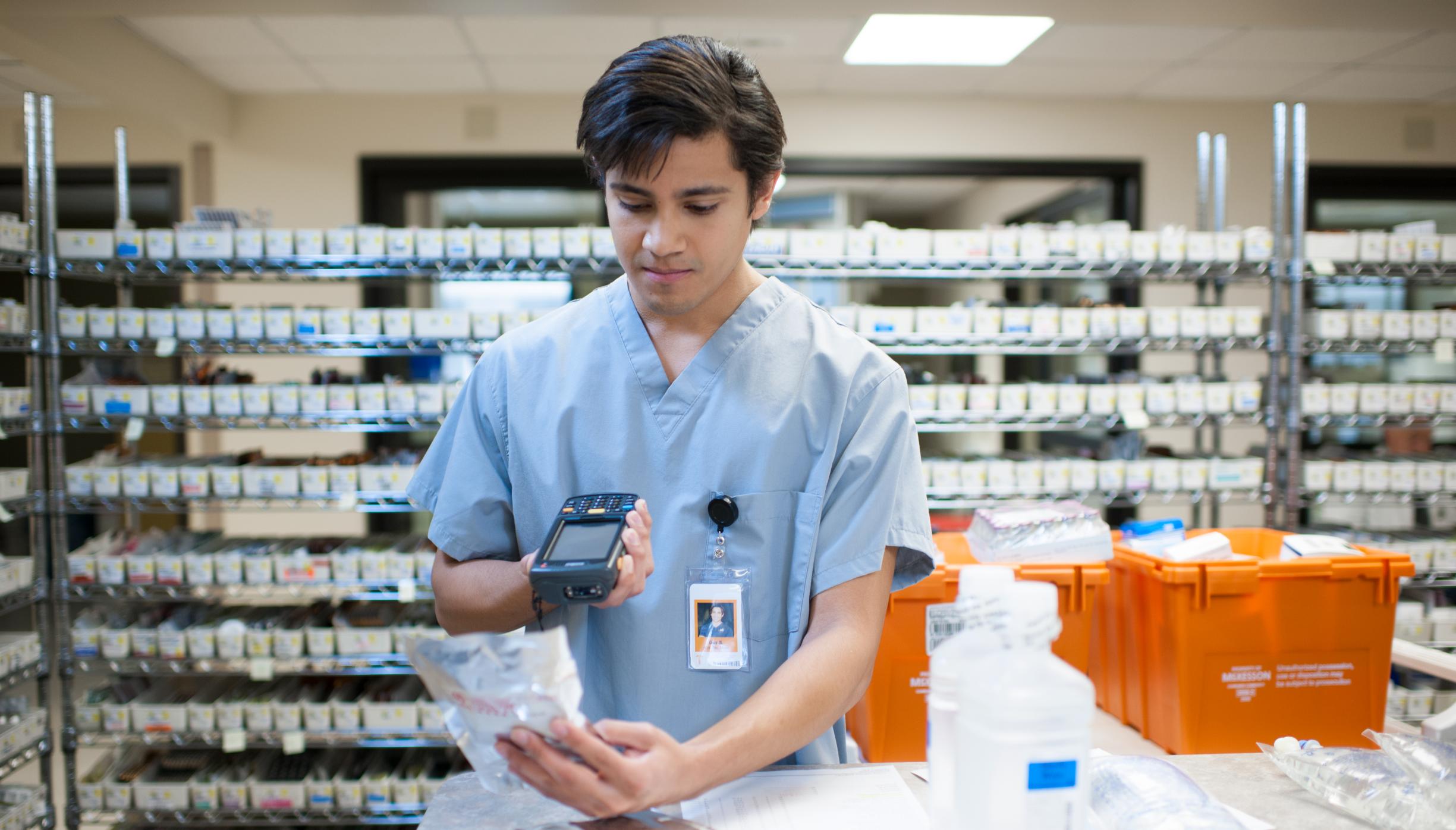 Inpatient hospital pharmacy